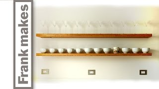 Kitchen Remodel: Part 13 - Floating Shelves