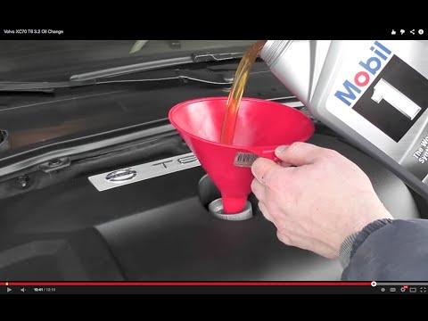 Volvo XC70 T6 3.2 Oil Change