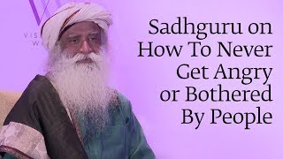 Video Sadhguru on How To Never Get Angry or Bothered By People MP3, 3GP, MP4, WEBM, AVI, FLV Januari 2019