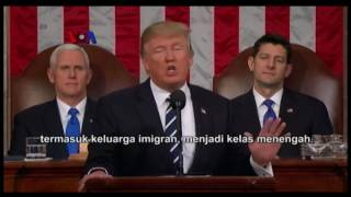 Video Pidato Trump Bernuansa Persatuan Namun Tetap 'America First' MP3, 3GP, MP4, WEBM, AVI, FLV Februari 2018