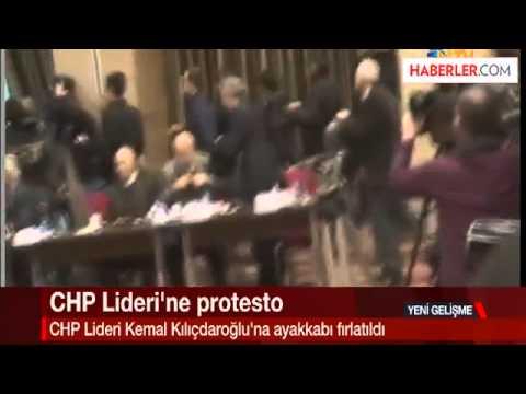 Kemal Kılıçdaroğlu'na Ayakkabı Fırlatılması