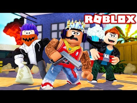 I joined a gang in Roblox...