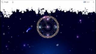 Snowy Night Clock L.Wallpaper YouTube video
