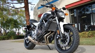 10. 2015 Yamaha FZ-07 Pearl White