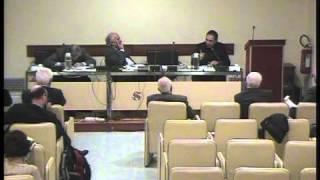 Convegno ex Parlamentari - Prof. Emiliano Brancaccio