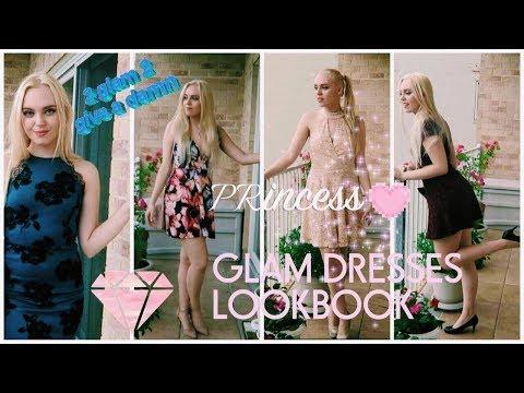 GLAM DRESSES LOOKBOOK * AFFORDABLE *