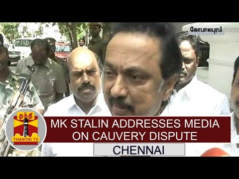 Opposition-Leader-MK-Stalin-addresses-media-on-Cauvery-Dispute-Thanthi-TV