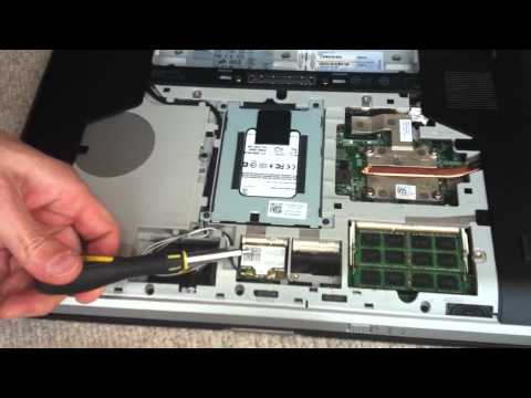 , title : 'Replacing, removing, upgrading RAM or memory on Dell Latitude E5520 i5 latop.'