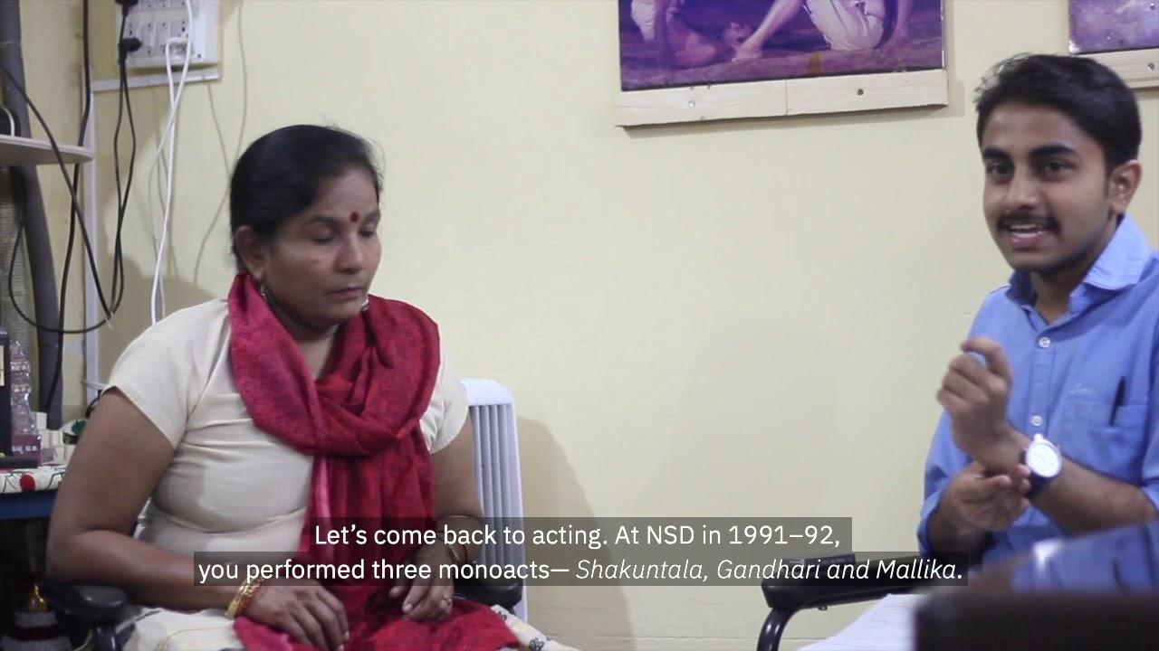 Vighnesh Hampapura in Conversation with Bhagirathi Bai Kadam: Living Theatre