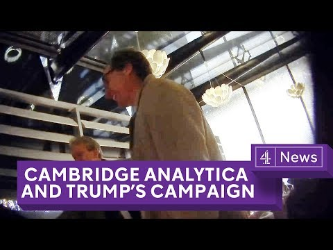 Cambride Analytica: Undercover Secrets of Trump's Data Firm, an investigation by Channel 4 News