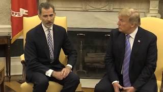 Reunión en el Despacho Oval de la Casa Blanca