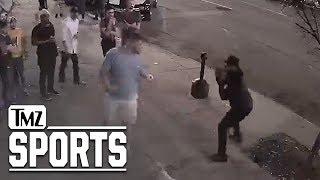Carolina Panthers Lineman KO'd in Street Fight, Video Shows