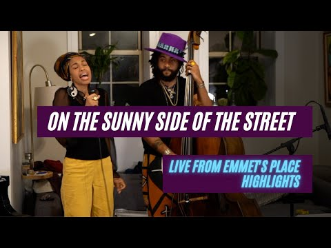 Emmet Cohen Trio feat. Jazzmeia Horn | On the Sunny Side of the Street