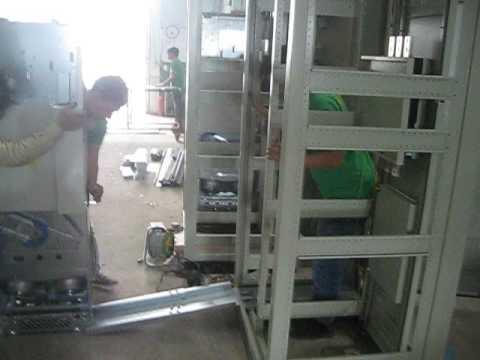 Hướng dẫn cách lắp đặt biến tần cỡ bự ABB đưa vào trong tủ bảng điện