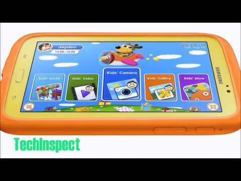 Samsung Galaxy Tab 3 Kids Edition (7-Inch with Orange Bumper Case)by Samsung