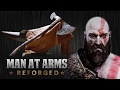 Kratos Axe God Of War Man At Arms: Reforged