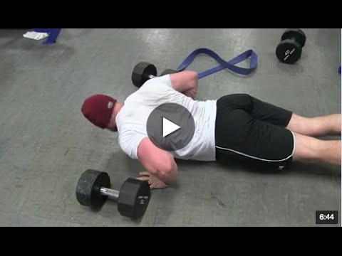 Chest and Tricep Bodybuilding Routine