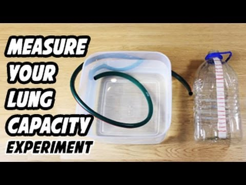 how to measure lung capacity