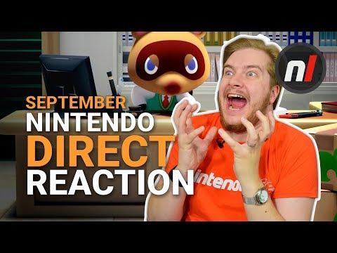 That Nintendo Direct Was Boring, Boring, AMAZING (13th Sept 2018) (видео)