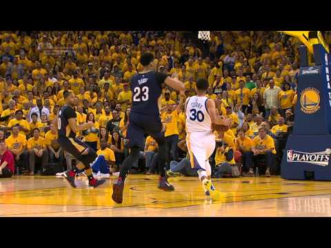 Video: Stephen Curry Scores 34 in Game 1 Win