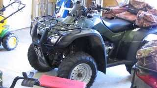 9. Honda Rancher TRX 350 FM And TRX 350 TE How They Work