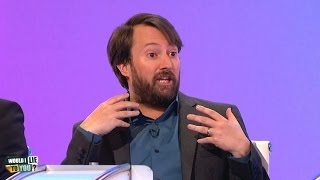 Has David Mitchell ever been skinny dipping? - Would I Lie to You? [HD][CC]