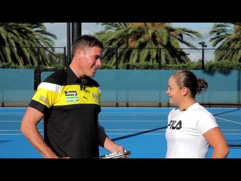 Richo Takes On Ash Barty
