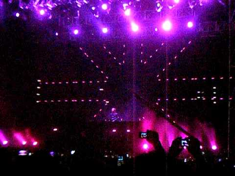 David Guetta - Without You (South America Summer Tour 2012 Chile)