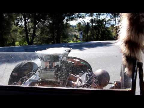 Ratrod T bucket in car driving