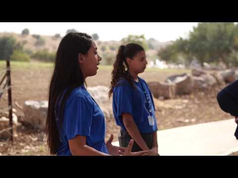 ילדים ותושבים משיבלי שומרים על נחל השבעה