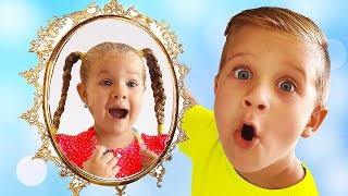 Magic Mirror grants wishes of Diana and Roma