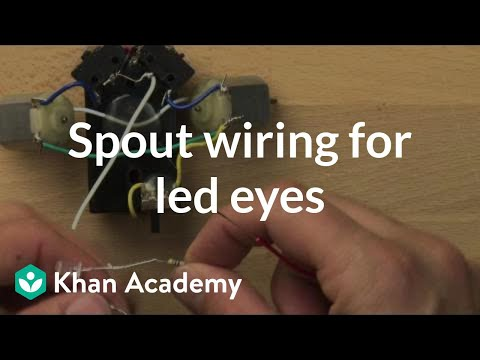 Spout wiring for led eyes video khan academy ccuart Choice Image