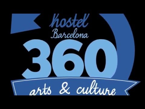 Video 360 Hostel Barcelona Arts&Culturesta