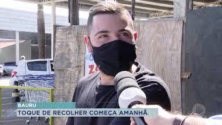 Governador João Dória anuncia Toque de Recolher em todo Estado de São Paulo