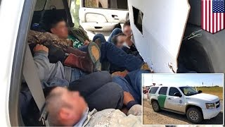 Laredo (TX) United States  city photos : Illegal immigration: Fake 'US border patrol' SUV busted bringing 12 migrants into Texas - TomoNews