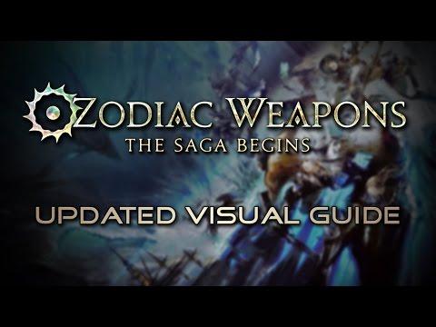 Final Fantasy XIV: Updated Zodiac Relic Guide for Stormblood (видео)