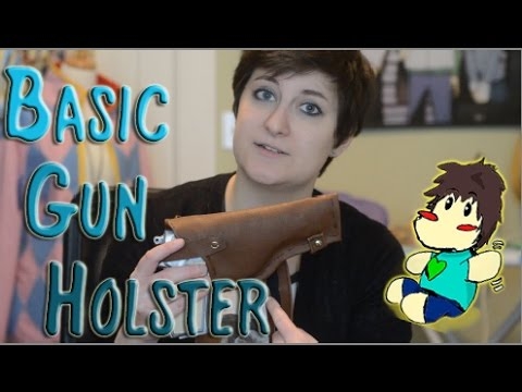 Cosplay Things: Basic Gun Holster
