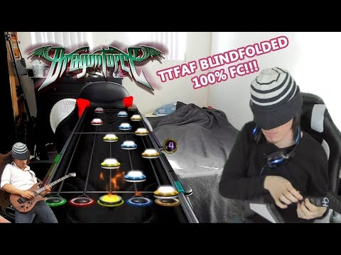 10 years after Guitar Hero 3, someone just became the first to 100% Dragonforce on expert while blindfolded