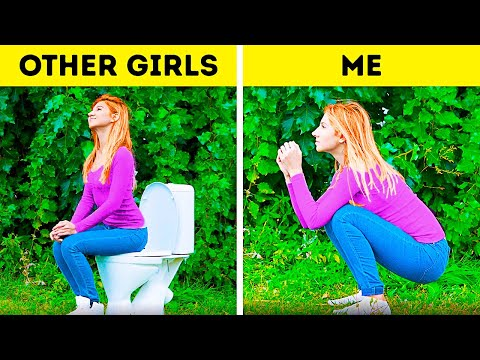 OTHERS vs ME || FUNNY SITUATIONS THAT YOU PROBABLY HATE