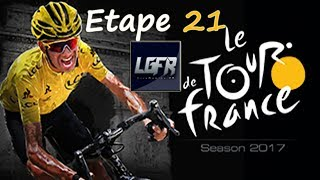 """Vingt-et-unième Étape du Tour de France saison 2017 sur PS4 (PlayStation 4) et XBOX ONE  avec l'AG2R La Mondiale par Cyanide / Focus et LiveGaming FR en français▬▬▬▬▬▬▬▬▬▬▬▬▬▬▬JEUX PAS CHÈR SUR MMOGA: https://mmo.ga/FiG9POUR NE PLUS RIEN LOUPER:••► Page Facebook: https://www.facebook.com/LiveGamingFR••► Twitch.tv: http://fr.twitch.tv/livegaming_fr••► Mon Twitter: https://twitter.com/LiveGamingFR••► Chaîne YouTube: http://www.youtube.com/user/FCSGam3rzqwe582••►Soutenir le Stream et passer un Message: https://www.tipeeestream.com/livegaming%20fr/donation▬▬▬▬▬▬▬▬▬▬▬▬▬▬▬▬▬▬▬▬▬▬▬▬▬▬▬▬▬▬▬▬▬▬Et n'oublie pas de mettre un """"j'aime"""", de laisser un Commentaire, de partager la Vidéo et de t'abonner, si la Vidéo ta plu. Merci et bon visionage!Cordialement LiveGaming FR"""
