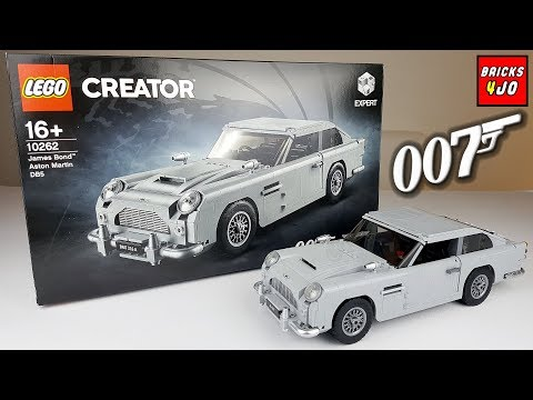 LEGO 10262 James Bond 007 Aston Martin DB5 (Creator Expert) - Review deutsch -