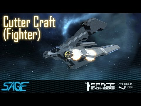 small - A small ship fighter, with a fairly A-Symmetrical design for top to bottom, at least when it comes to it's silhouette. Get this ship here: http://steamcommunity.com/sharedfiles/itemedittext/?id=32...