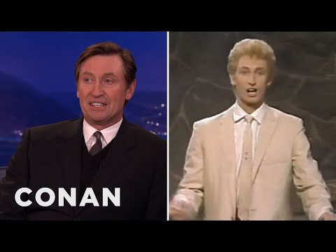 Saturday Night Live Sweden - Wayne was the host & Conan was the awkward extra in the background. More CONAN @ http://teamcoco.com/video Team Coco is the official YouTube channel of late ...