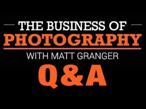 Photography & Business - Your questions answered