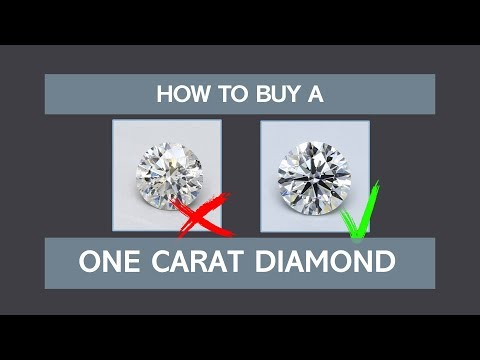 How to Buy a One Carat Diamond
