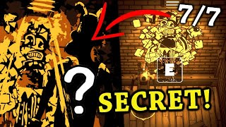 Boris SECRET Cut-Scene Ending? *ALL* 7/7 Scrap Found | Boris and The Dark Survival
