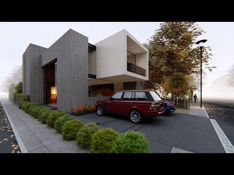 LUMION 8 Pro Render Modern House#5