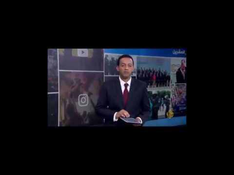 #فيديو : #شاهد مذيع #الجزيرة يسخر من خطأ محمد الذيابي