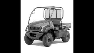 7. Kawasaki Mule 600 & 610 4x4 - Workshop, Service, Repair Manual