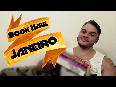BOOK HAUL JANEIRO